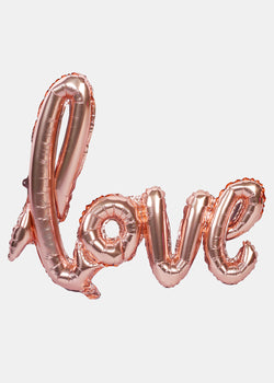 OKI Party Balloon- Rose Gold Love
