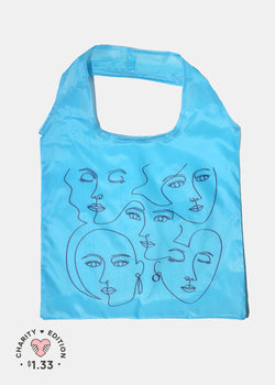 OKI ReUse-able Tote: Modern Faces