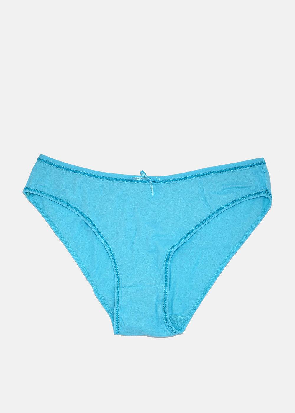 LOVE XOXO Print Brief Panty- Teal