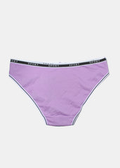 Sport Waistband Brief Panty- Purple