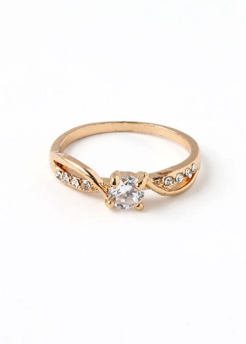 Solitaire Gemstone Ring