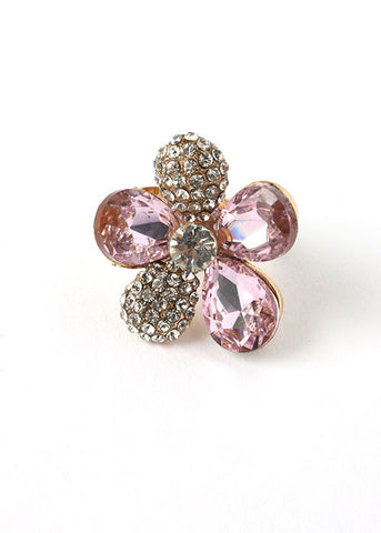 Jewel Flower Ring