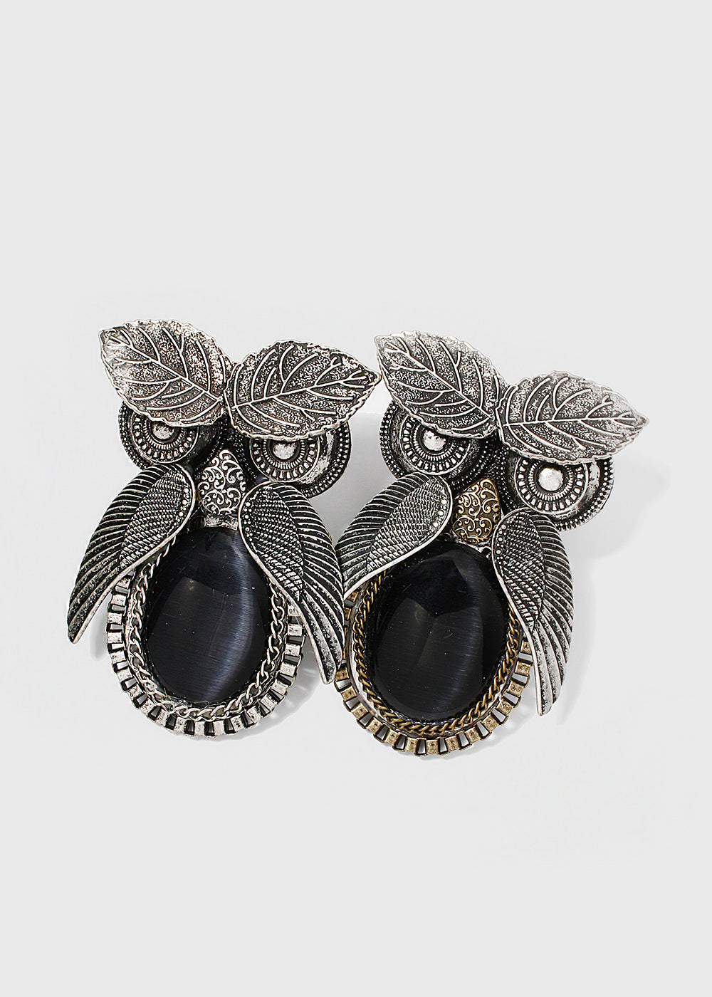 Large Metal Owl Ring
