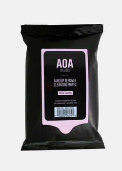 AOA Makeup Remover Wipes - Rose Water