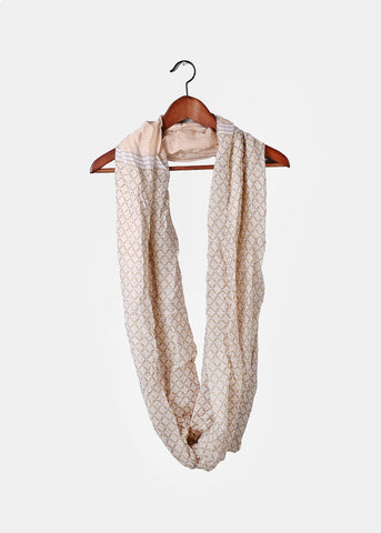 Diamond Design Infinity Scarf