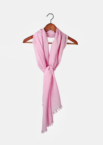 Lightweight Solid Color Scarf- Purple