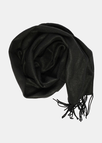 Soft & Cozy Black Scarf
