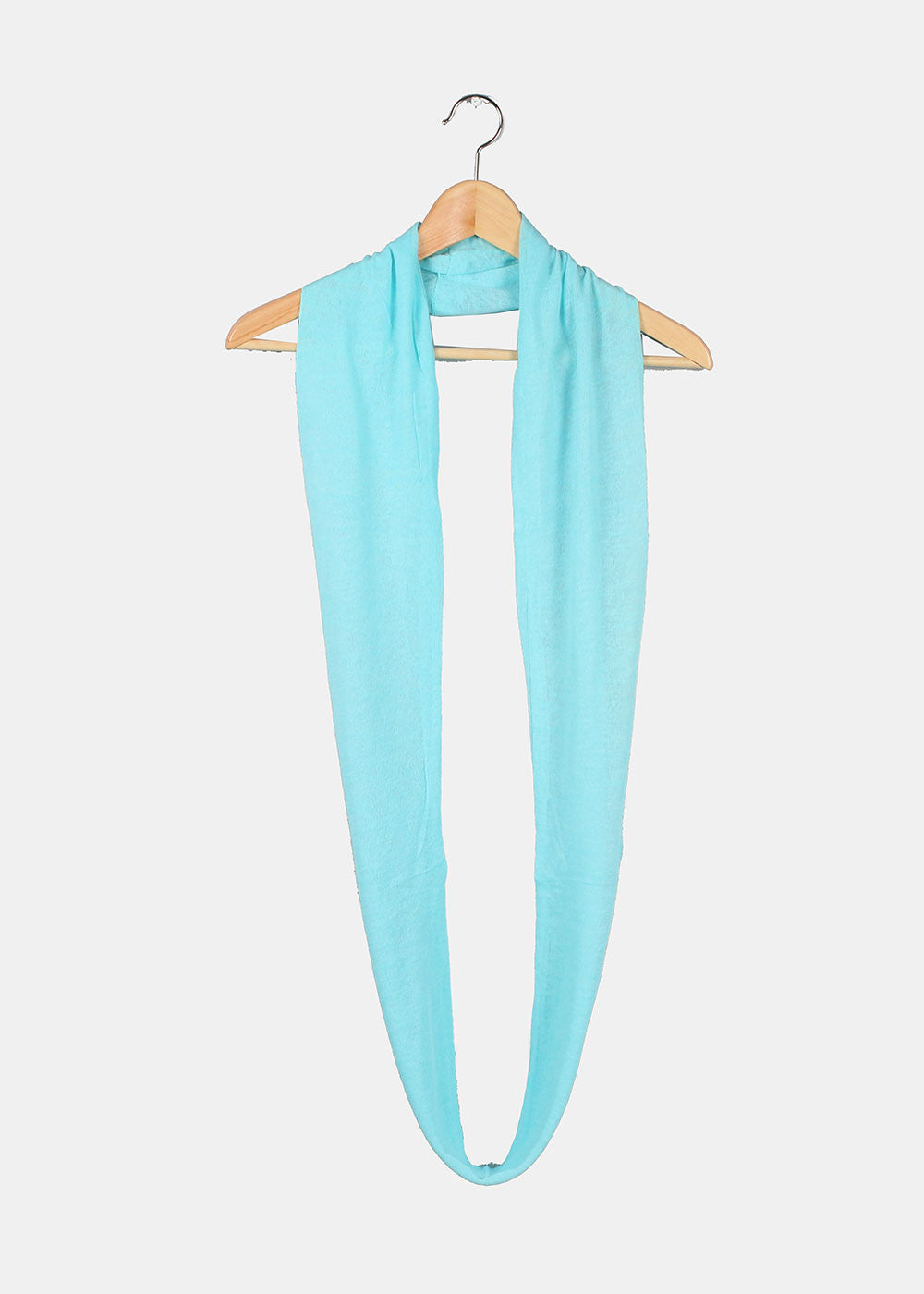Lightweight Infinity Scarf - Light Blue