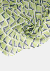 Lightweight Triangle Infinity Scarf- Green