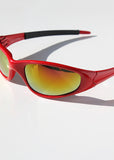 Sporty Sunglasses- Red