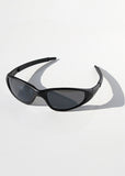 Sporty Sunglasses- Matte Black