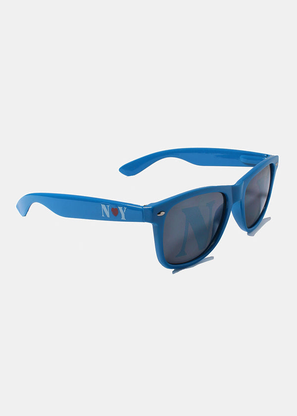 Square Sunglasses- Blue