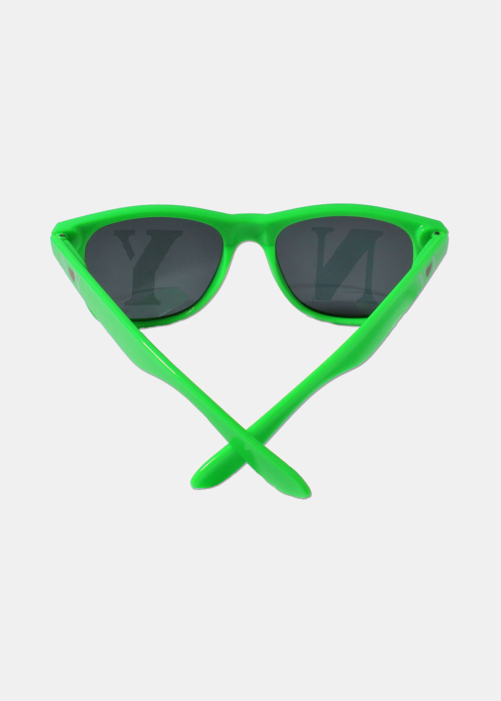 NY Square Sunglasses- Green
