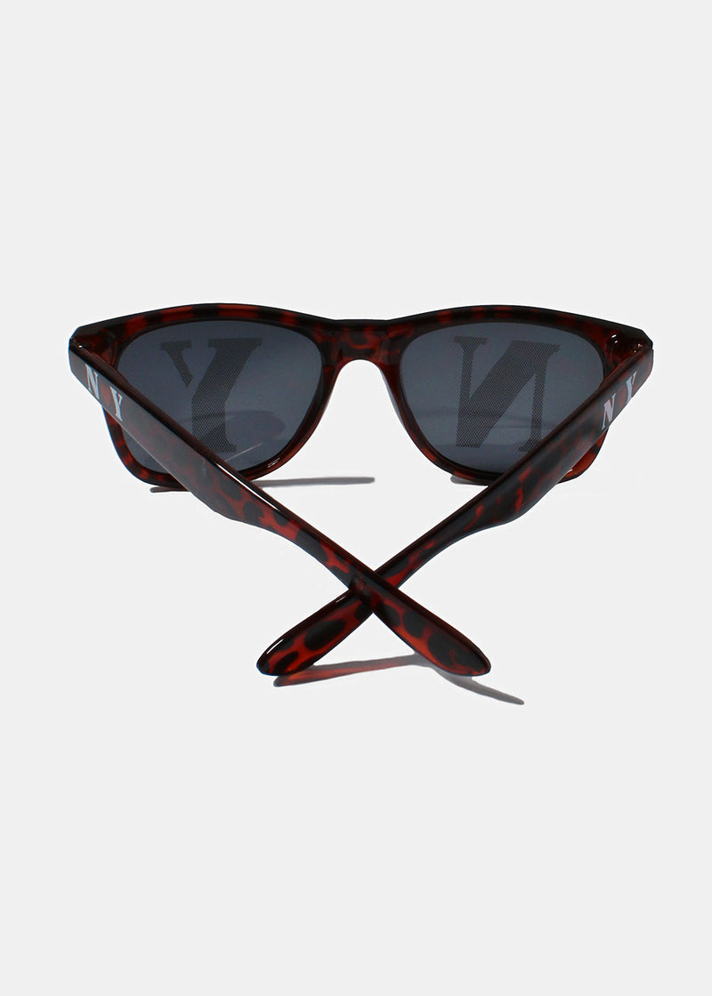 Square Sunglasses- Tortoise