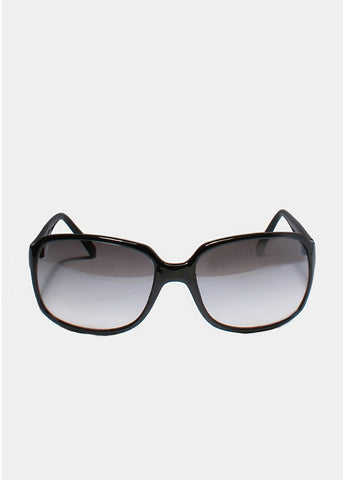 Classic Square Sunglasses- Black