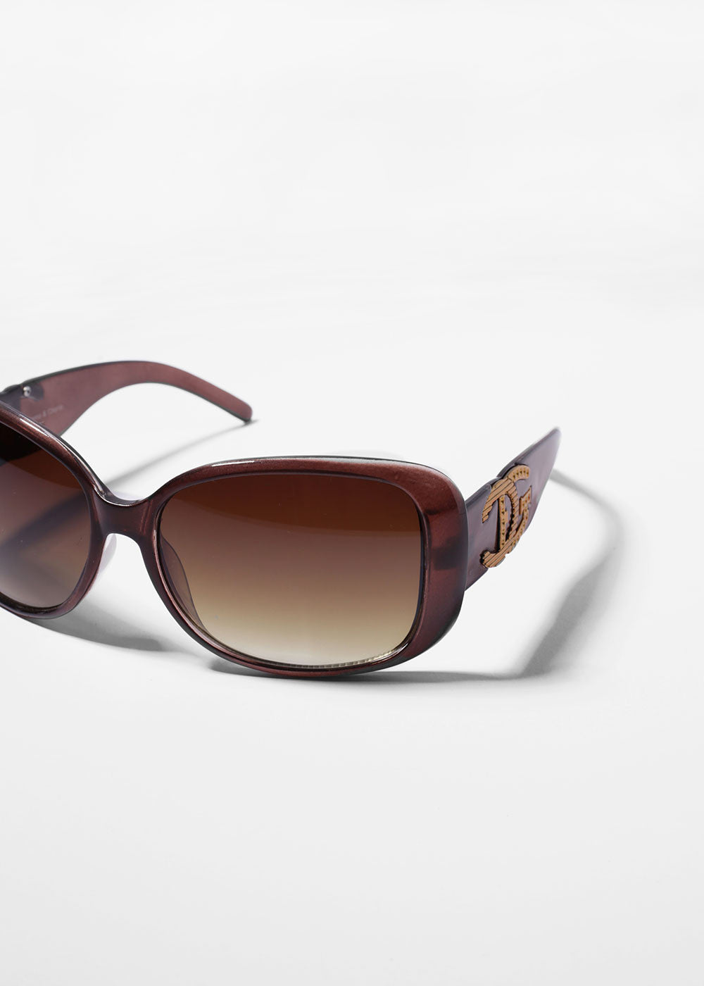 Designer-Inspired Chic Sunglasses- Brown