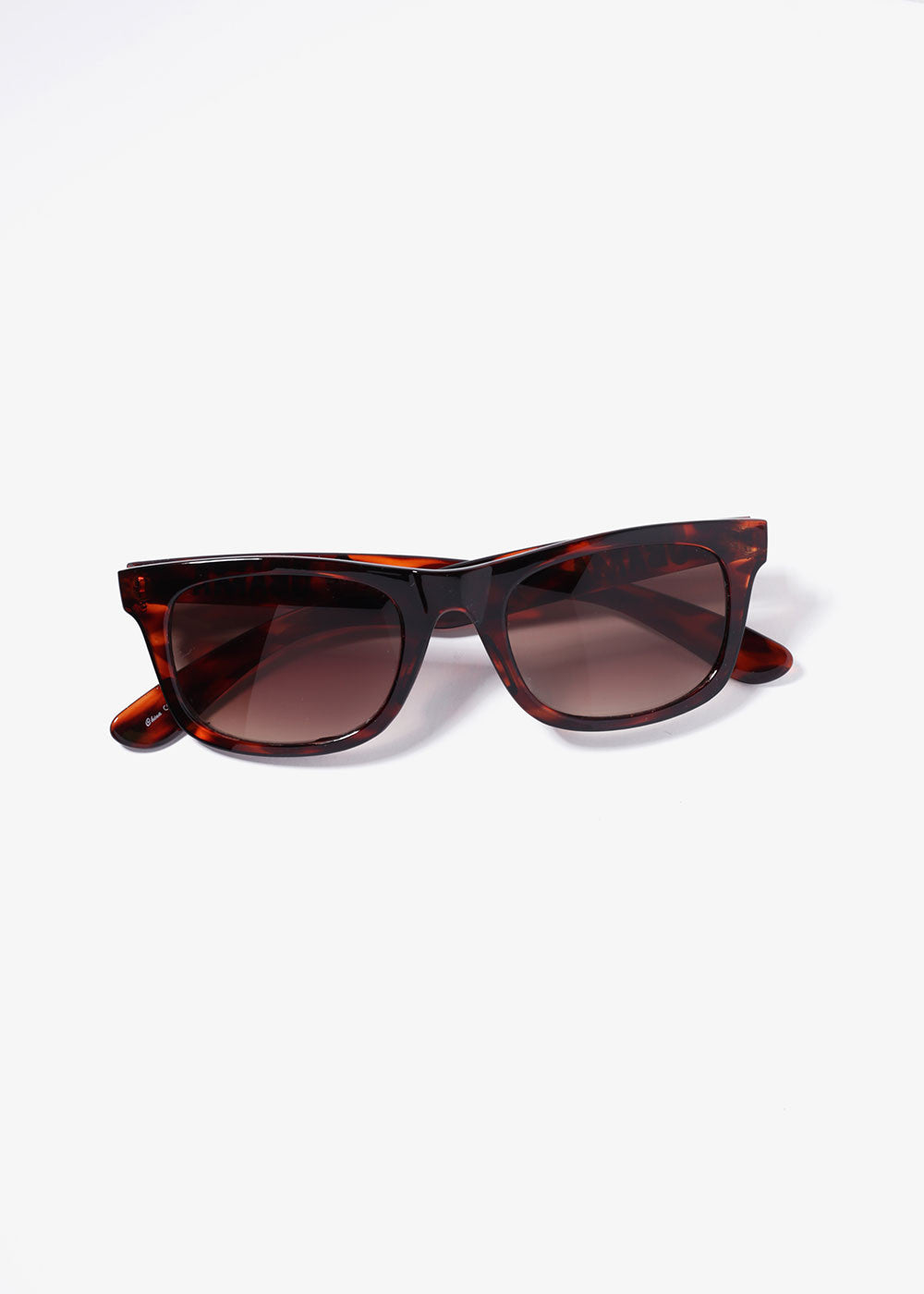 Obama Print Sunglasses- Tortoise