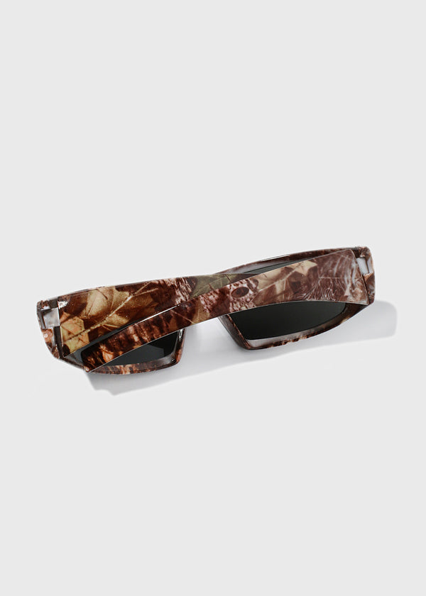 Camo Sport Sunglasses- Brown