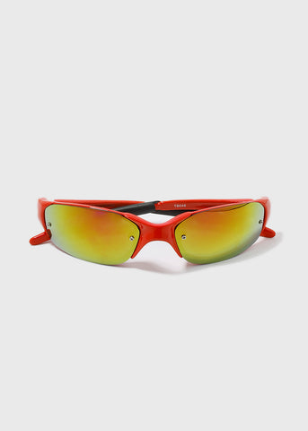 Sport Sunglasses- Red