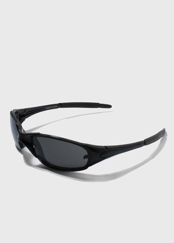 Sport Sunglasses- Black