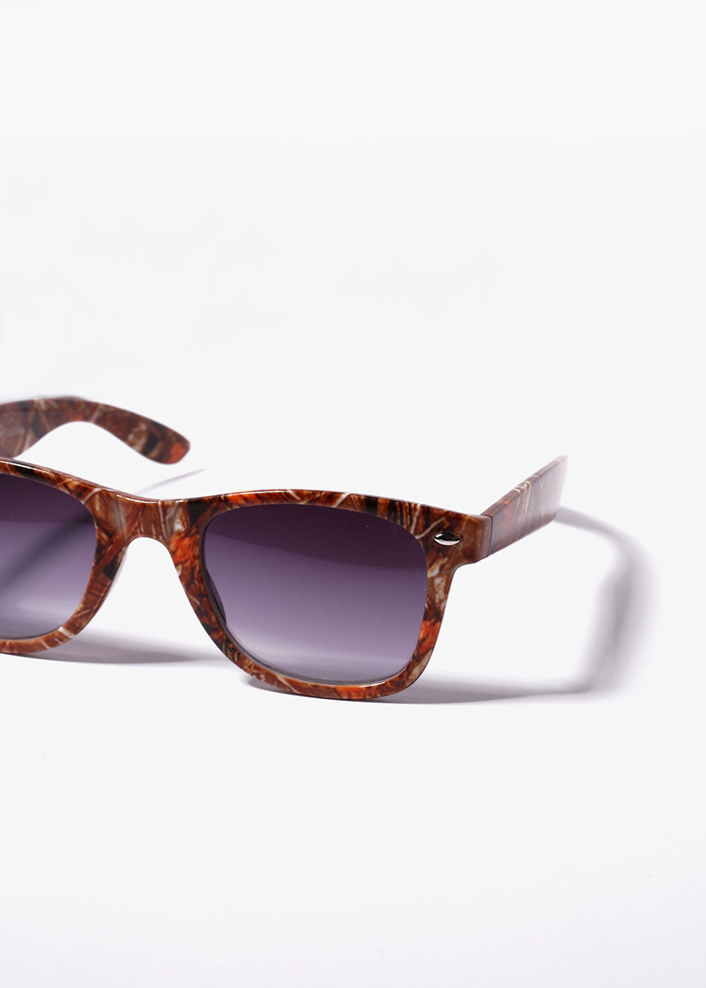 Woodsy Camo Sunglasses- Orange