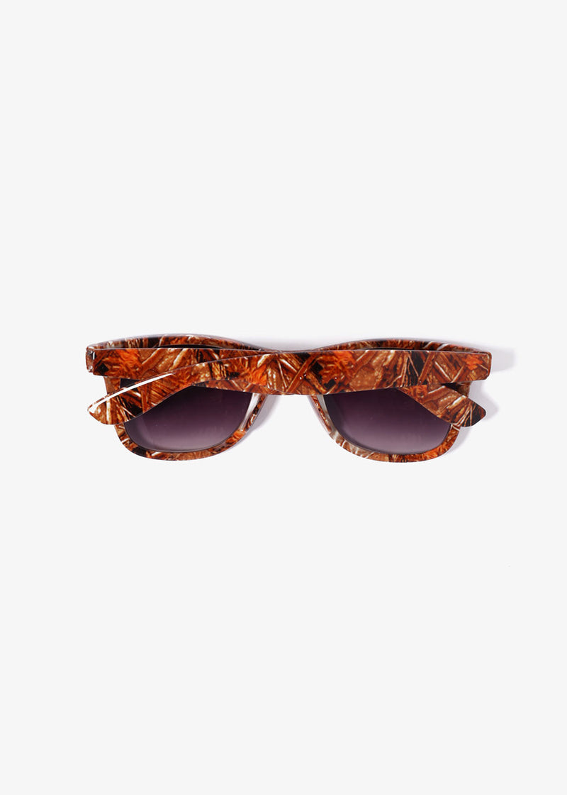 Camo Sunglasses- Orange