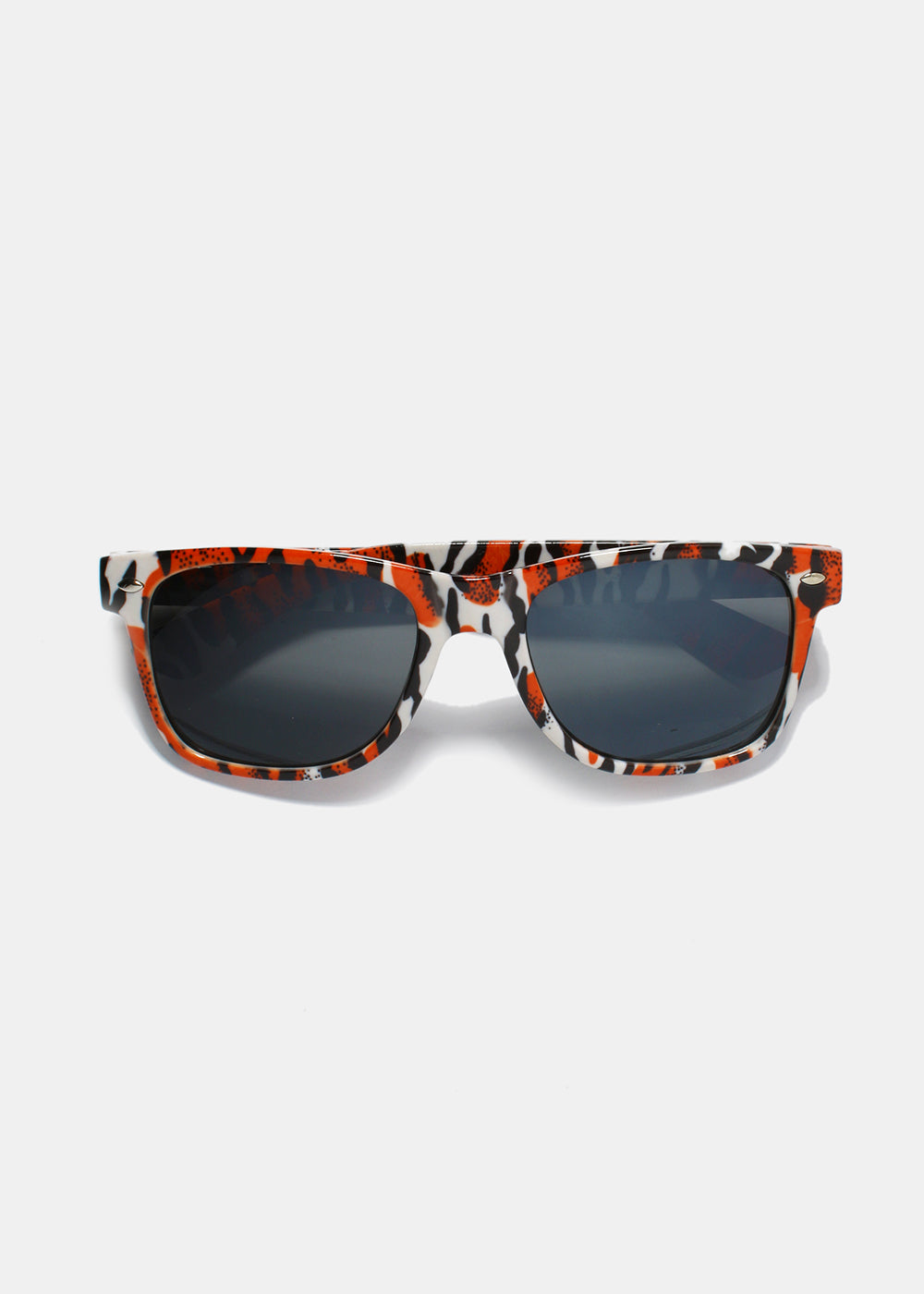 c0c3a29979 Multi-Color Animal Print Sunglasses- Red