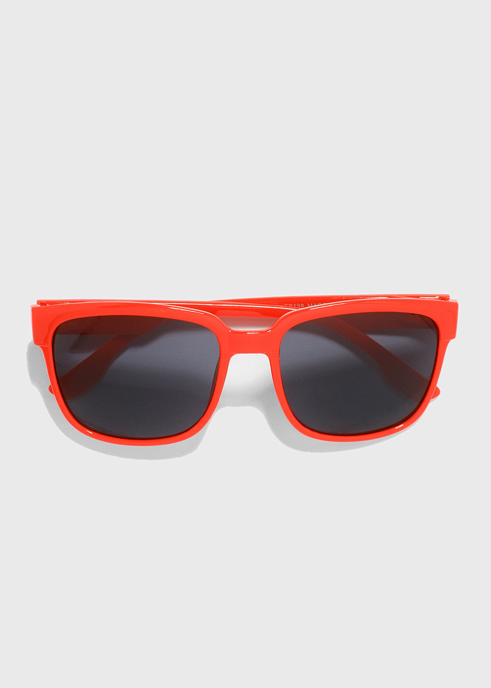 Chic Square Sunglasses- Red