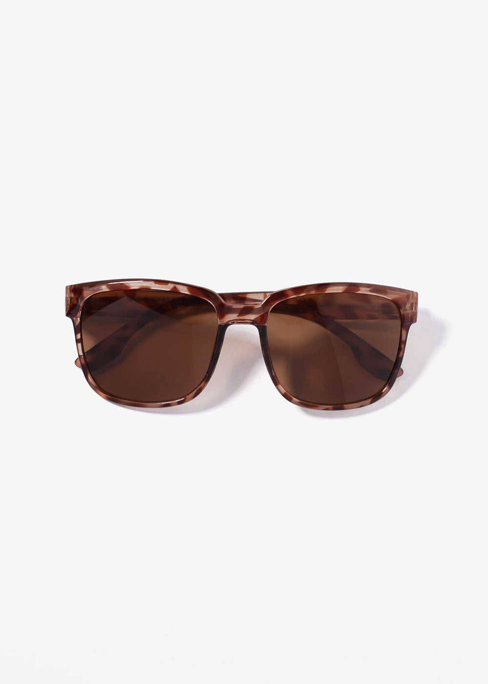 Chic Square Sunglasses- Tortoise