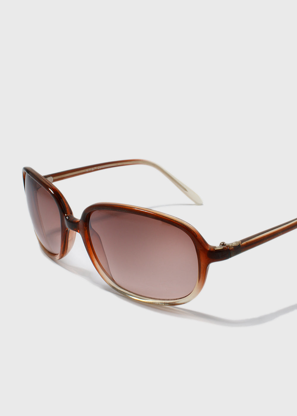 Modern Square Frame Sunglasses- Pink