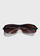 Chic Sport Sunglasses- Black/Clear