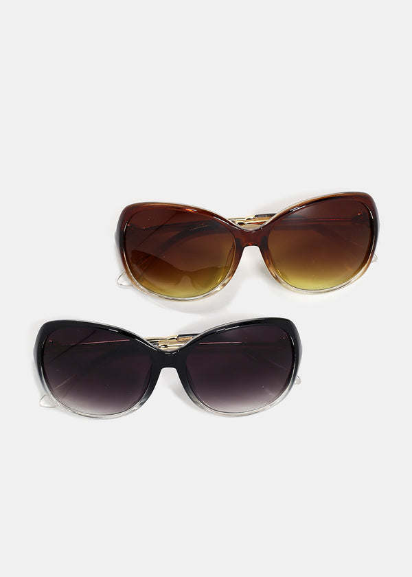 Oversize Oval Sunglasses
