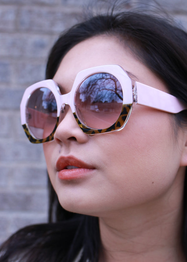 Retro Hexagonal Sunglasses