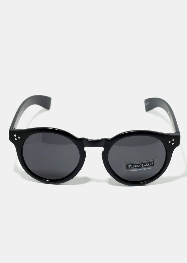 Retro Rounded Sunglasses