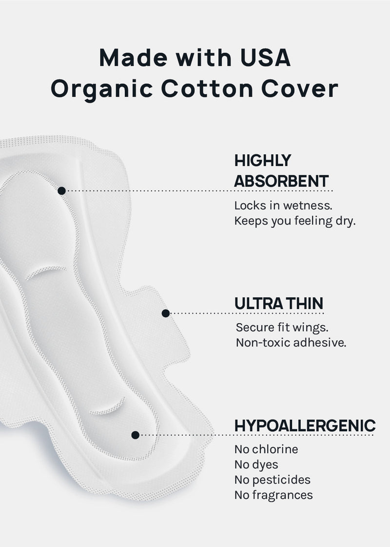 Organic Cotton Pads- Large