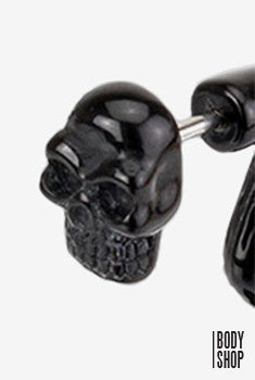 Death Skull Fake Taper - Black