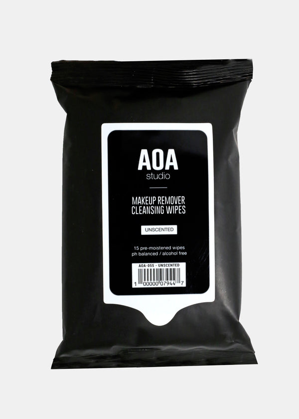 AOA Makeup Remover Wipes - Pure Unscented