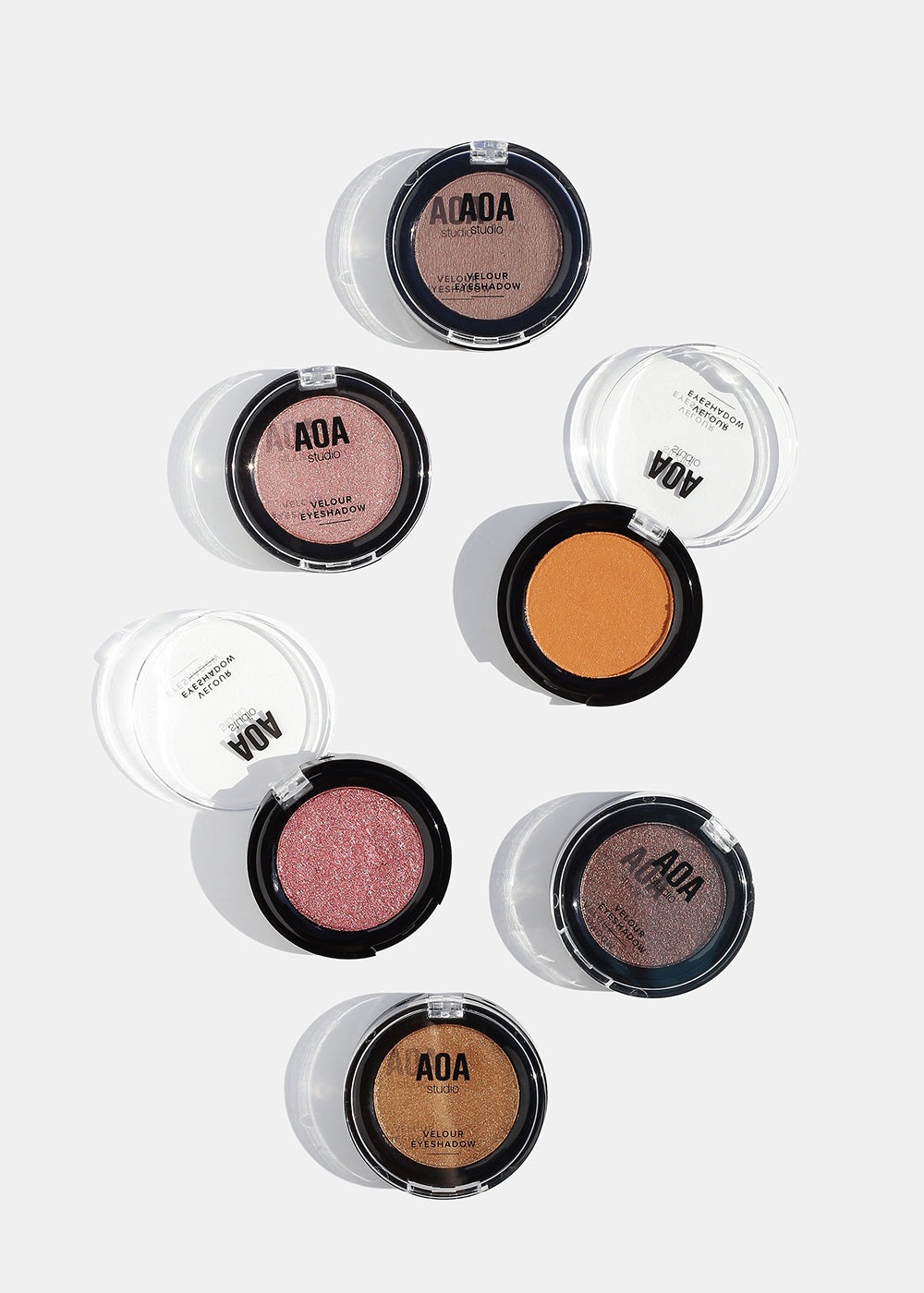 AOA Velour Mousse Eyeshadow- Borderline