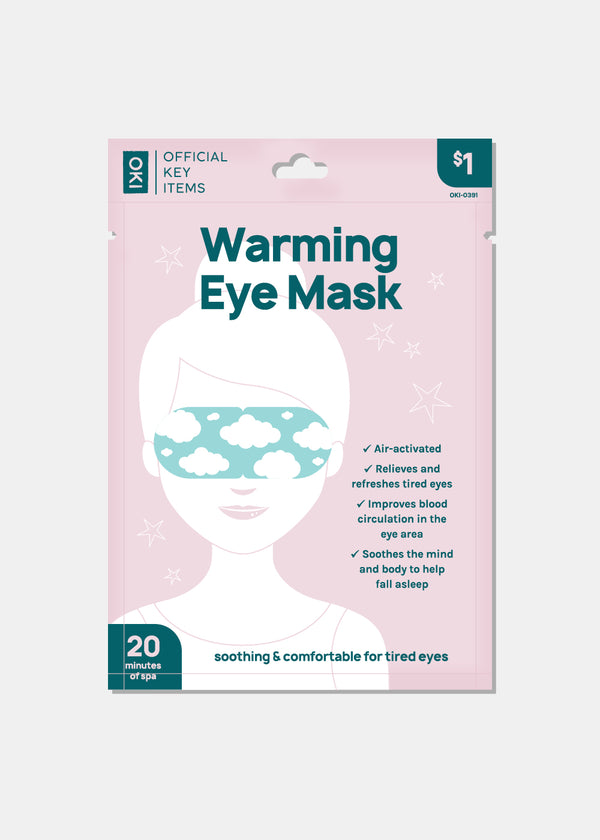 Official Key Items Warming Eye Mask