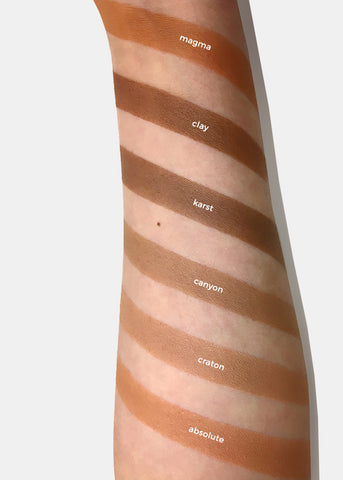 a2o Lab Single Bronzer Contour - Clay