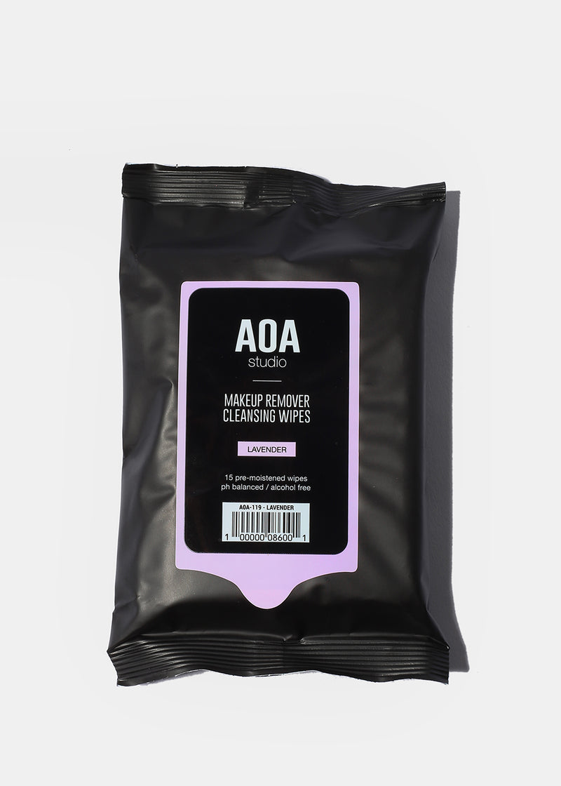 AOA Makeup Remover Wipes - Lavender