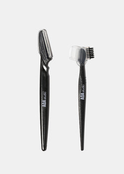 AOA 2-Piece Eyebrow Razor Set
