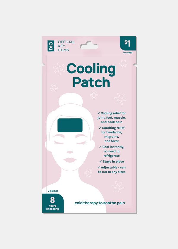 Official Key Items Cooling Gel Patch