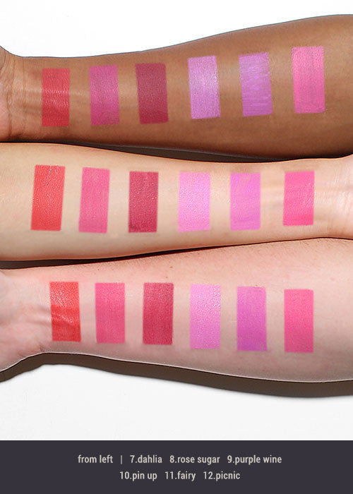 Princessa Matte Liquid Lipstick- Color Set 1