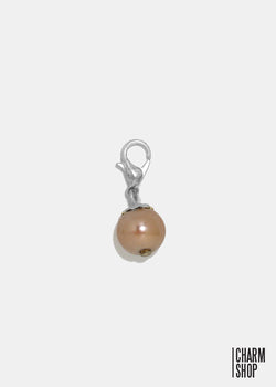 Brown Pearl Dangle Charm