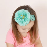 Kids Flower Accent Stretch Headband
