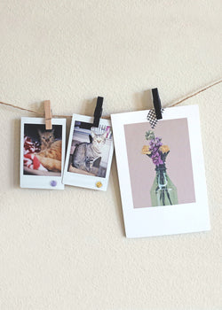 OKI Photo Clip Wall Decor Set