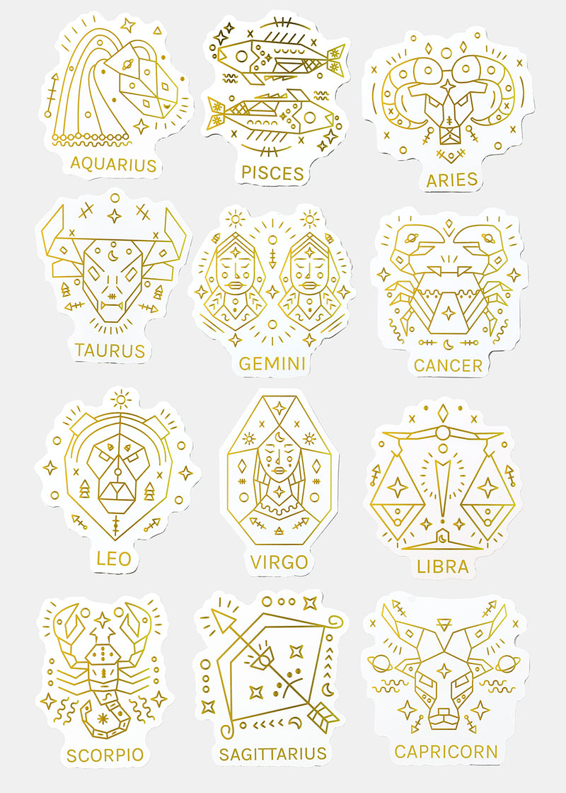 Official Key Items Sticker- Cancer Zodiac
