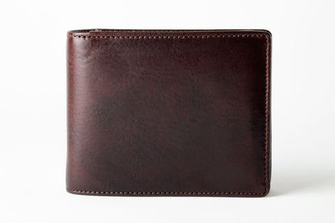 BLACKWOOD TRIFOLD WALLET WITH FLIP CARD CASE