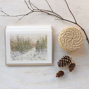 Winter Forest Note Cards
